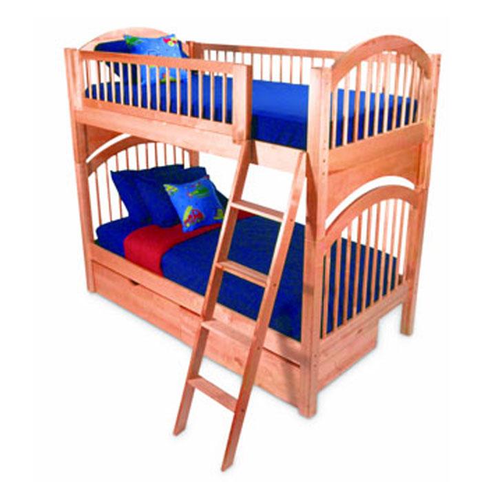 tradewins loft bed birch 2