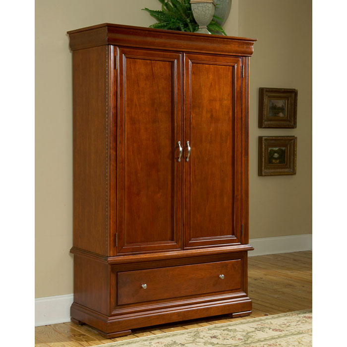 Belle Provence Bedroom Armoire Bp 4980a Tradewins Furniture