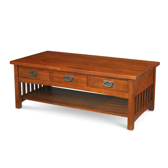 Mission Oak Coffee Table Mis 9501 Tradewins Furniture