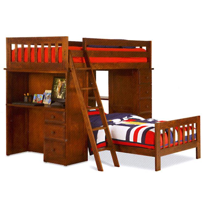 tradewins computer loft bed 2