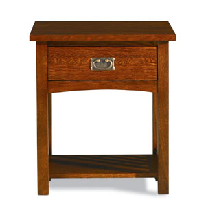 Mission Oak 1 Drawer Nightstand