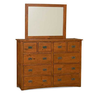 Arts and Crafts 10 Drawer Dresser