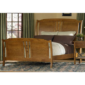 Cal King Carmel Highlands Sleigh Bed