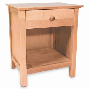Birch Youth 1 Drawer Nightstand