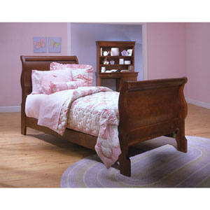 Louie Philippe Youth Full Sleigh Bed