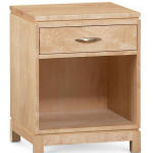 Peninsula 1 Drawer Nightstand
