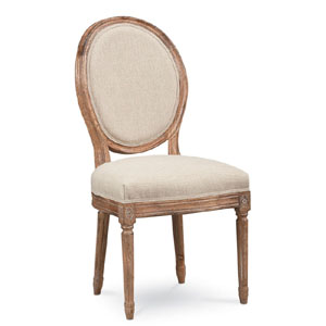 Providence French Side Chair with Round Back