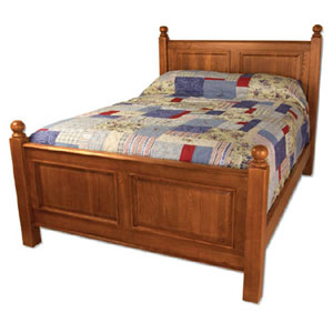 Riverwood Raised Panel Cal King Bed