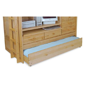 Birch Youth Birch Trundle Bed